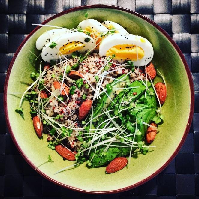 Quinoa Power Bowl - The Beginner's Cookbook Recipe