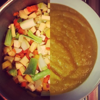 Caramelized Root Vegetable Soup - The Beginner's Cookbook Recipe